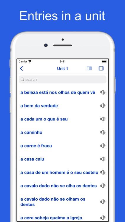 Portuguese Idioms and Proverbs screenshot-8