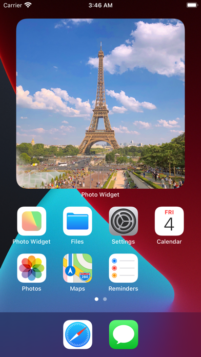Photo Widget : Simple screenshot 1