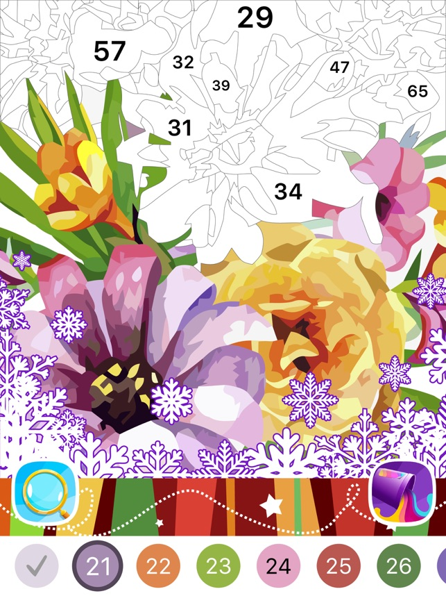 Color By Number Oil Painting On The App Store