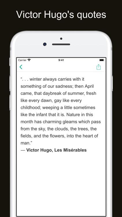 Victor Hugo's works screenshot-6