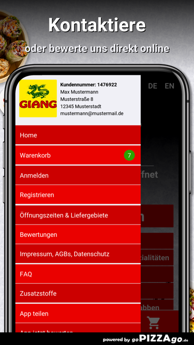 China Imbiss Giang Dortmund screenshot 3