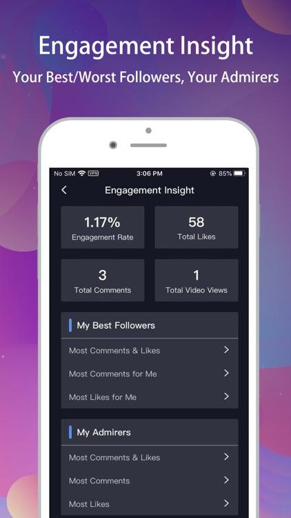 Reports+ for Instagram tracker screenshot-5