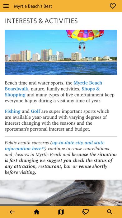 Myrtle Beach's Best Travel App screenshot 7