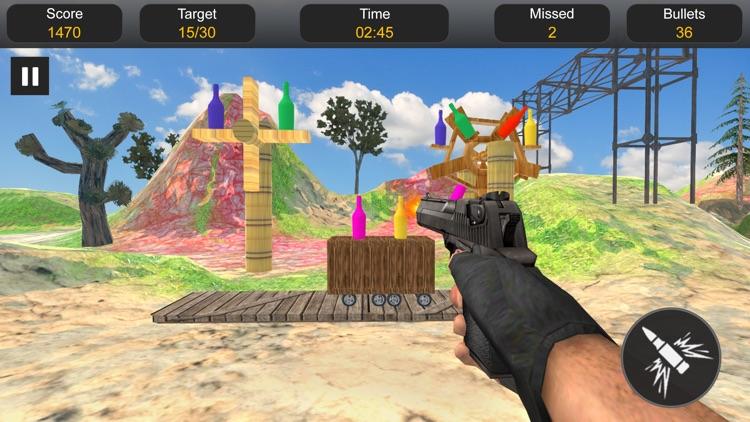 Bottle Shooting Expert Shooter screenshot-4