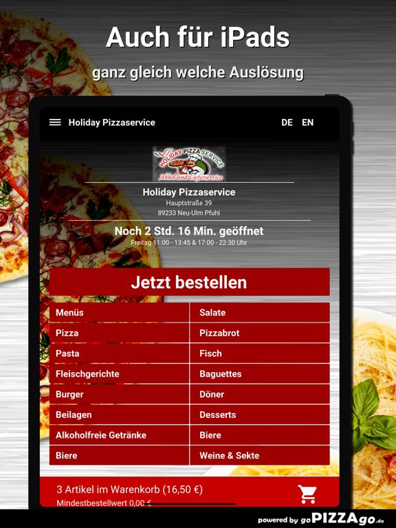 Holiday Pizza Neu-Ulm Pfuhl screenshot 7