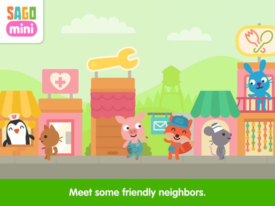 Sago Mini Neighborhood Blocks screenshot 8