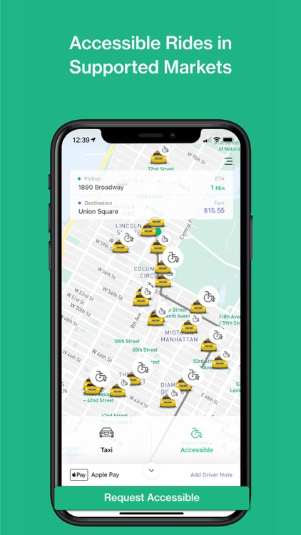 Curb - Request & Pay for Taxis screenshot-4