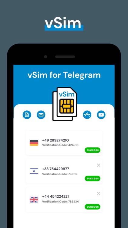 Telegram Virtual Phone Number screenshot-4