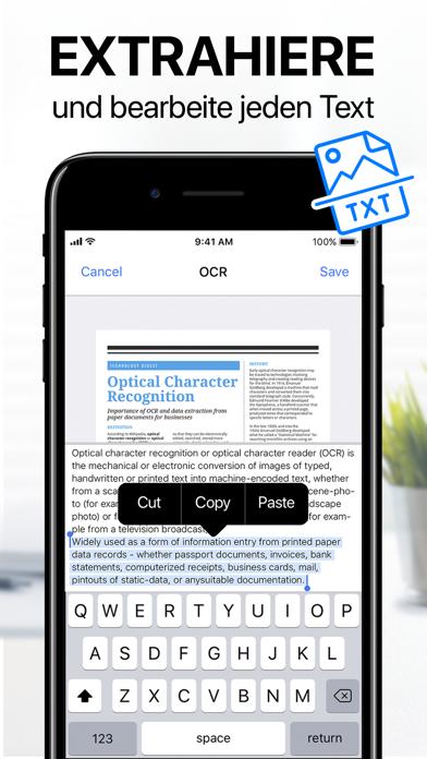 Herunterladen iScanner - Dokumenten Scanner für Pc