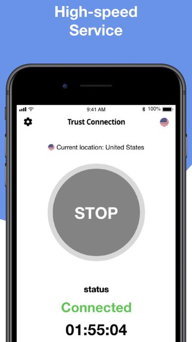 Trust Connection Screenshot