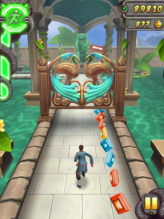 iPad Image of Temple Run 2