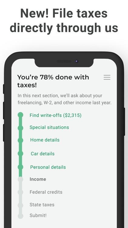 Keeper Tax: Automatic Savings screenshot-5