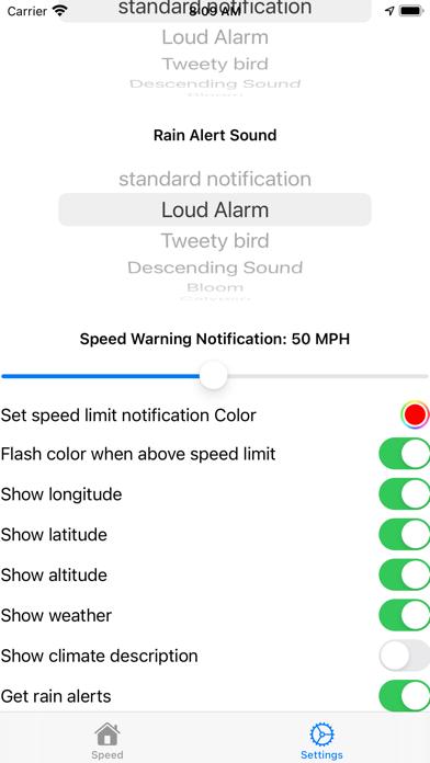 Talking Speedometer & HUD Screenshot