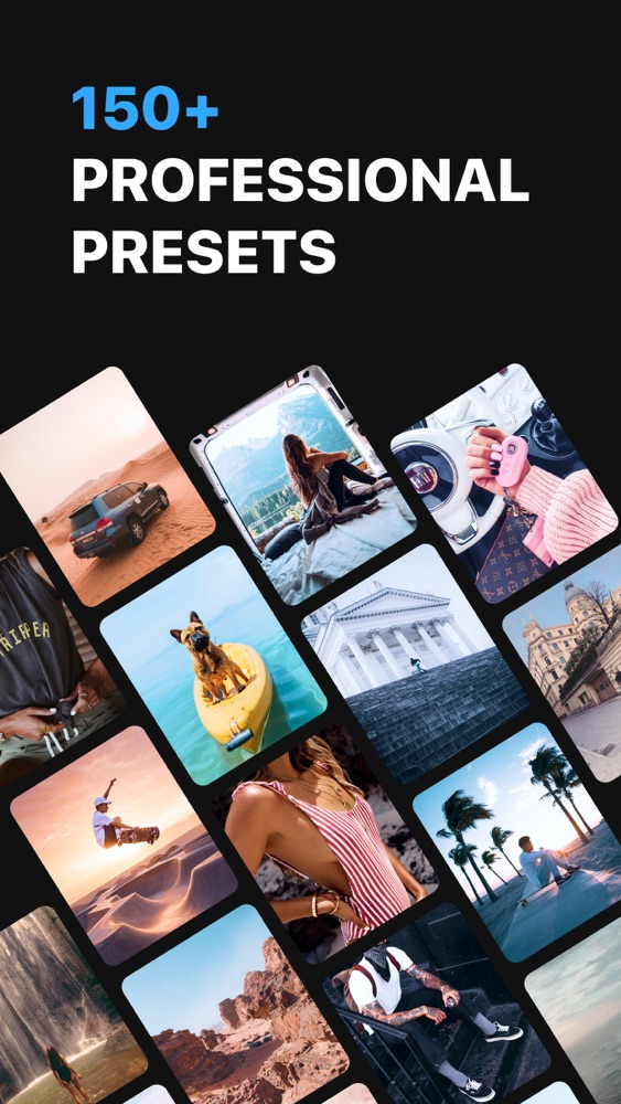 Presets for Lightroom - Lighty App for iPhone - Free ...