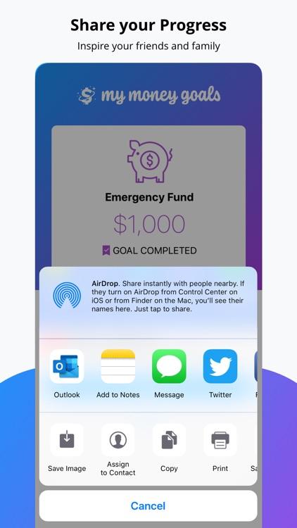 My Money Goals: Track Finances screenshot-4