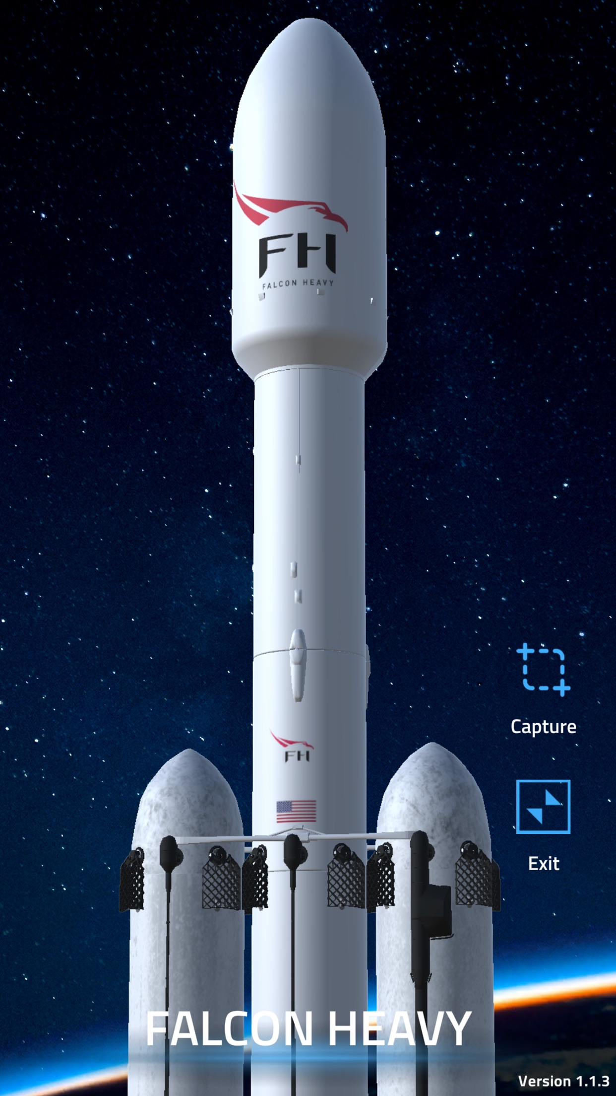 Screenshot do app HoppAR
