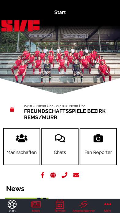 SV Fellbach FußballScreenshot von 2