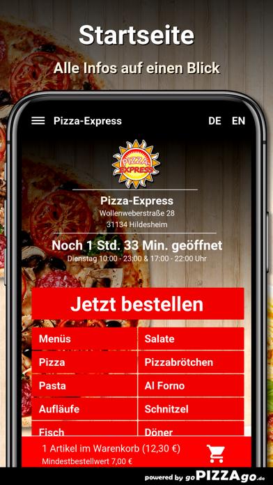 Pizza-Express Hildesheim screenshot 2