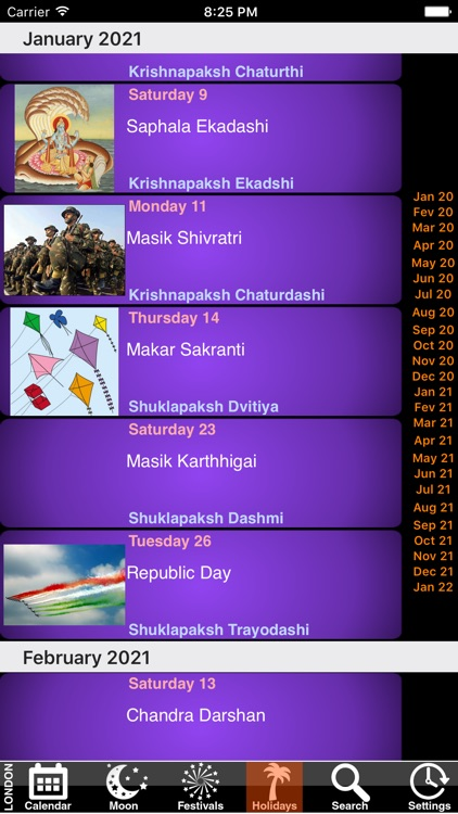 India Panchang Calendar 2021 screenshot-3