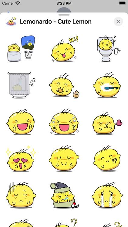 Lemonardo - Cute Lemon