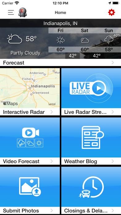 WTHR Live Doppler 13 Weatherのおすすめ画像5