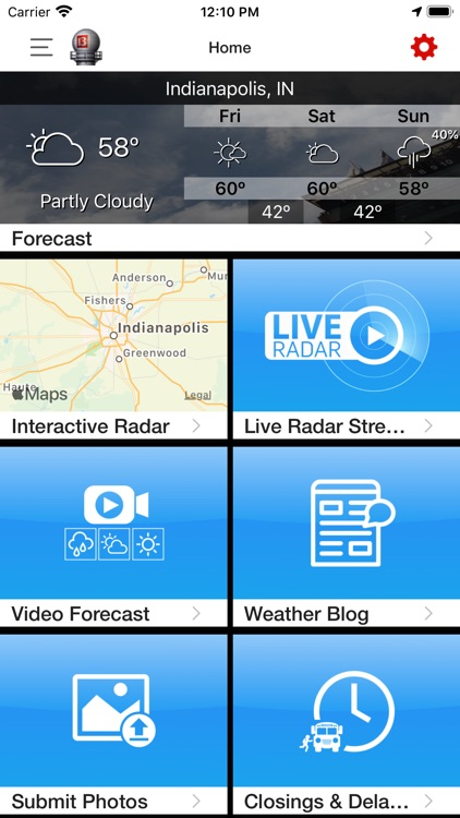 WTHR Live Doppler 13 Weather screenshot-4