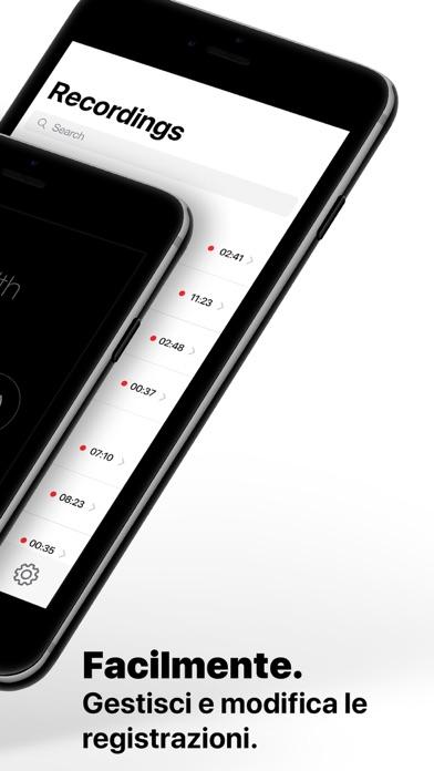 Screenshot of Registratore chiamate: WeRec5
