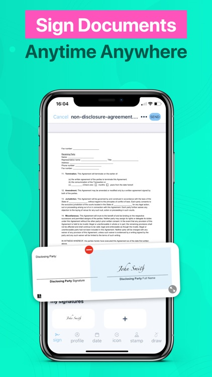 Fill and Sign: Document Signer
