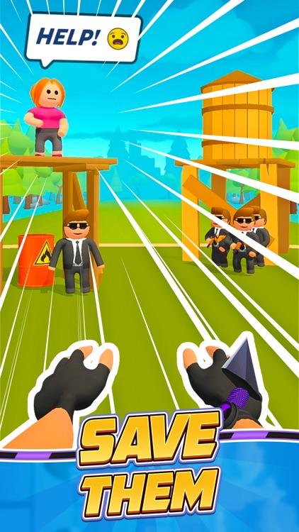绳索小飞侠 (Ropeman3D) screenshot-4