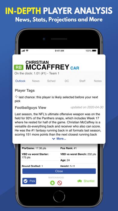 Fantasy Football Draft 2020 screenshot 9
