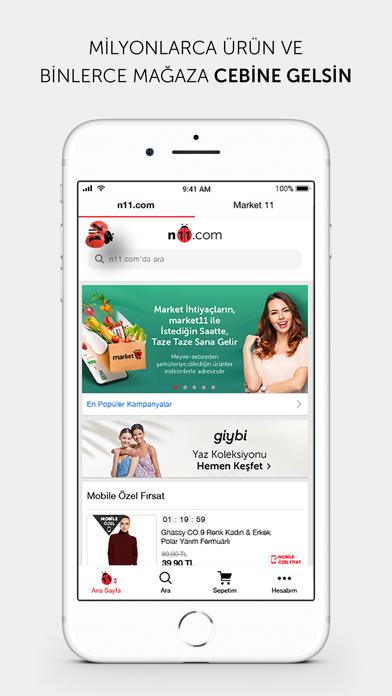 n11.com - Alışverişin Adresi iphone ekran görüntüleri
