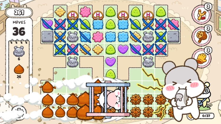 Hamster Town: the Puzzle screenshot-6