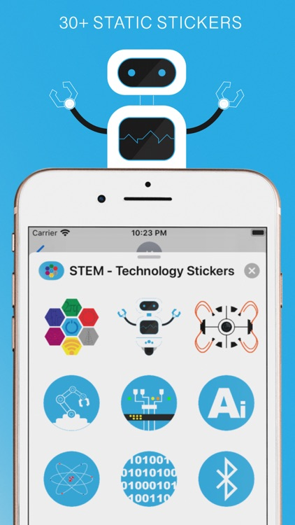 STEM - Technology Stickers