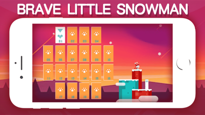 Brave little Snowman screenshot 2