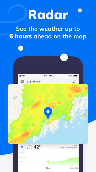Weather by Tomorrow.io Screenshot