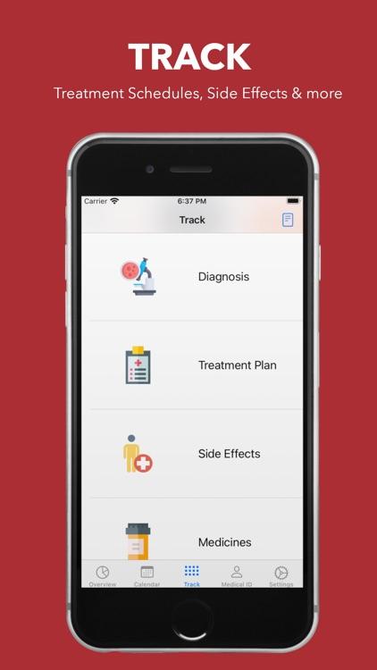 My Cancer Tracker screenshot-3