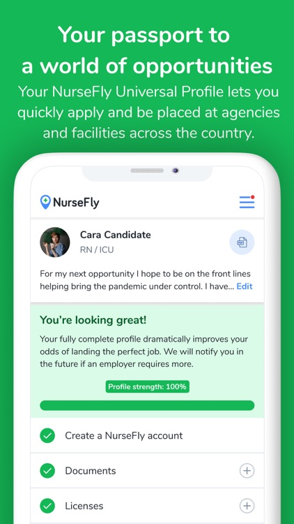 NurseFly Healthcare Job Search