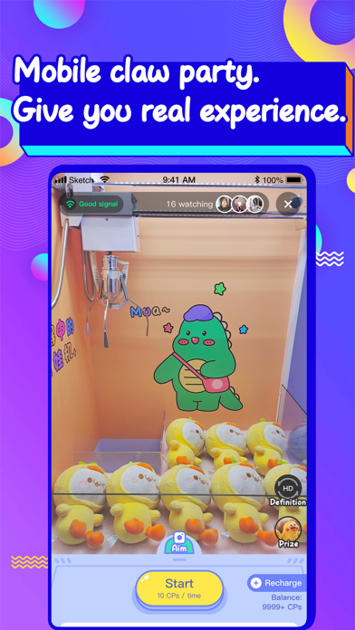 Claw Party-Real Claw Machine Screenshot