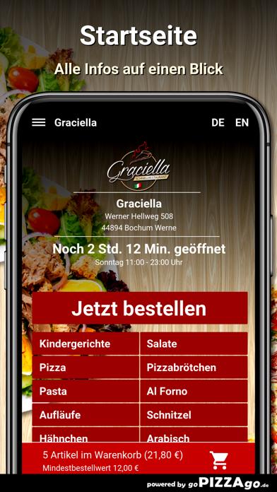 Graciella Bochum Werne screenshot 2