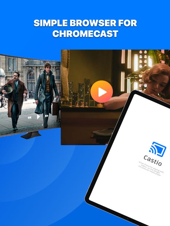 Castio - Chromecast TVにキャストするのおすすめ画像1