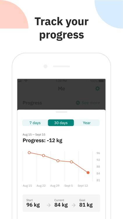 Unimeal: Weight Loss Plan screenshot-4