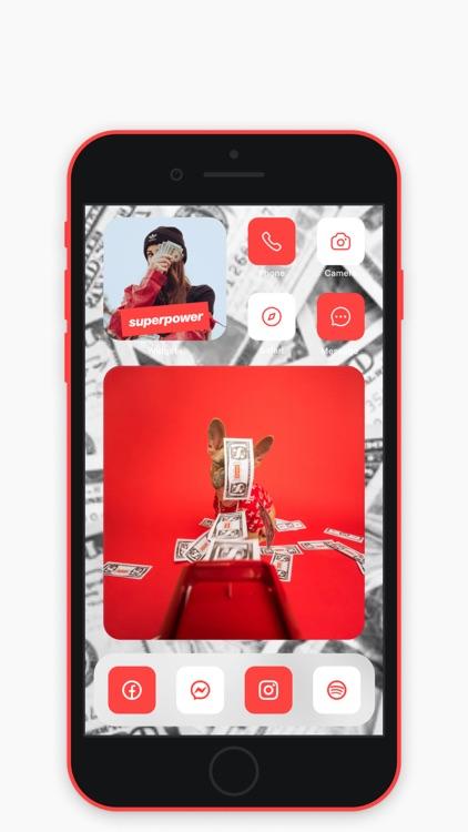 Widget+ icons, themes, custom screenshot-3