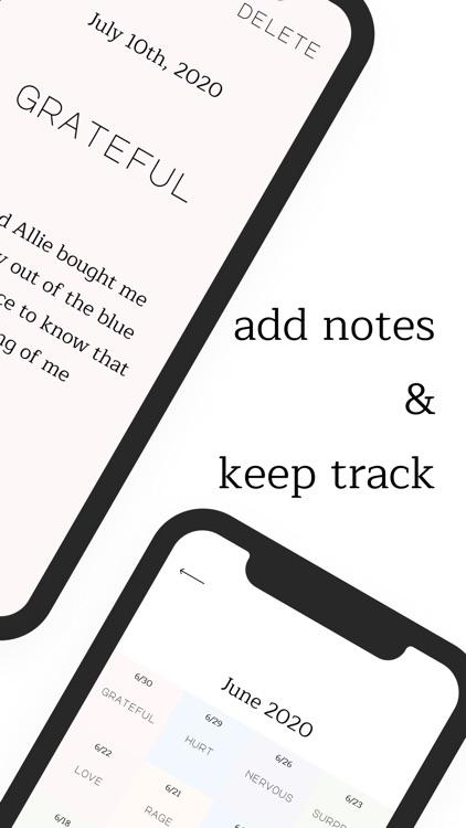 Aware: mood tracker