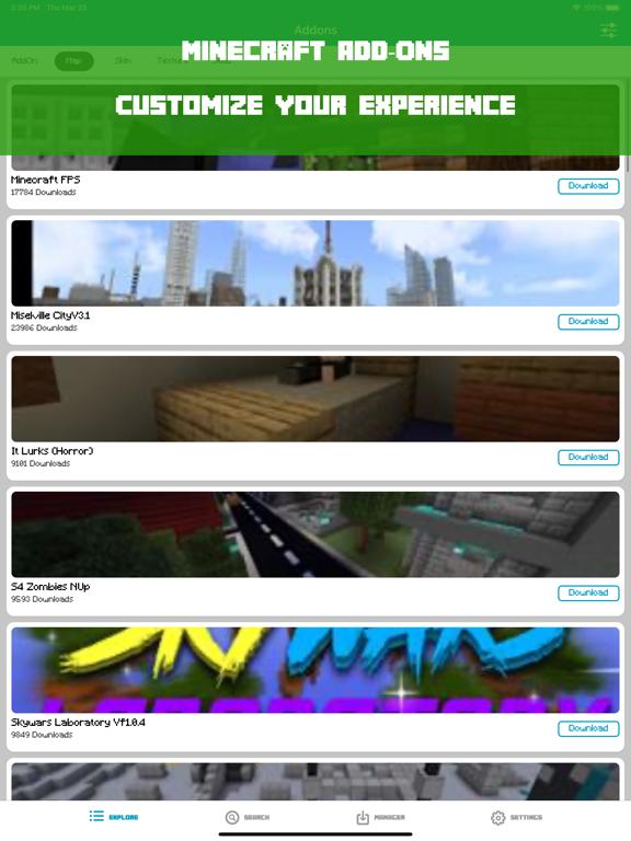 Add-ons for minecraft pe, mcpe screenshot 4