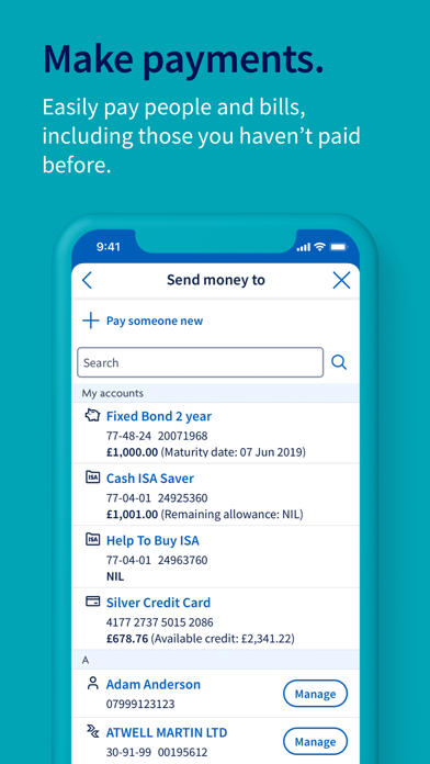 Halifax Mobile Banking screenshot four