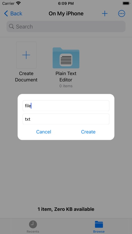 Plain Text Editor By MCK