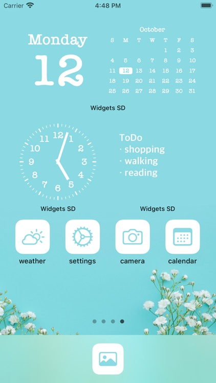 Widgets SD - Photo & Calendar screenshot-1