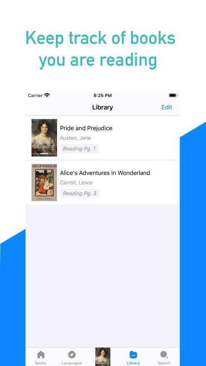 Ebook reader - Gutenberg