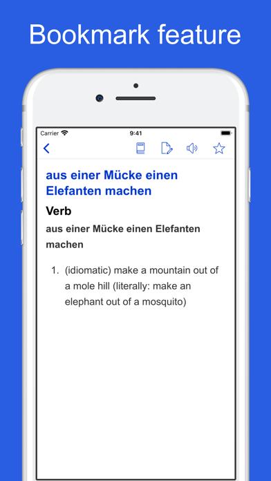 German Idioms, Proverbs screenshot 4