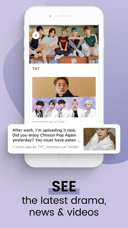 K-Pop Fans - News & Videos screenshot-3